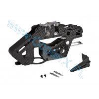 CopterX (CX450PRO-03-01B) Carbon Fiber & Metal Main Frame Set