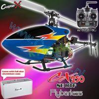 CopterX CX 250 SE Flybarless 2.4GHz RTF