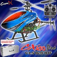 CopterX CX 450 PRO V3,5 Belt Version 2.4GHz RTF