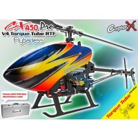 CopterX CX 450 PRO V4 Flybarless Torque Tube Version 2.4GHz RTF